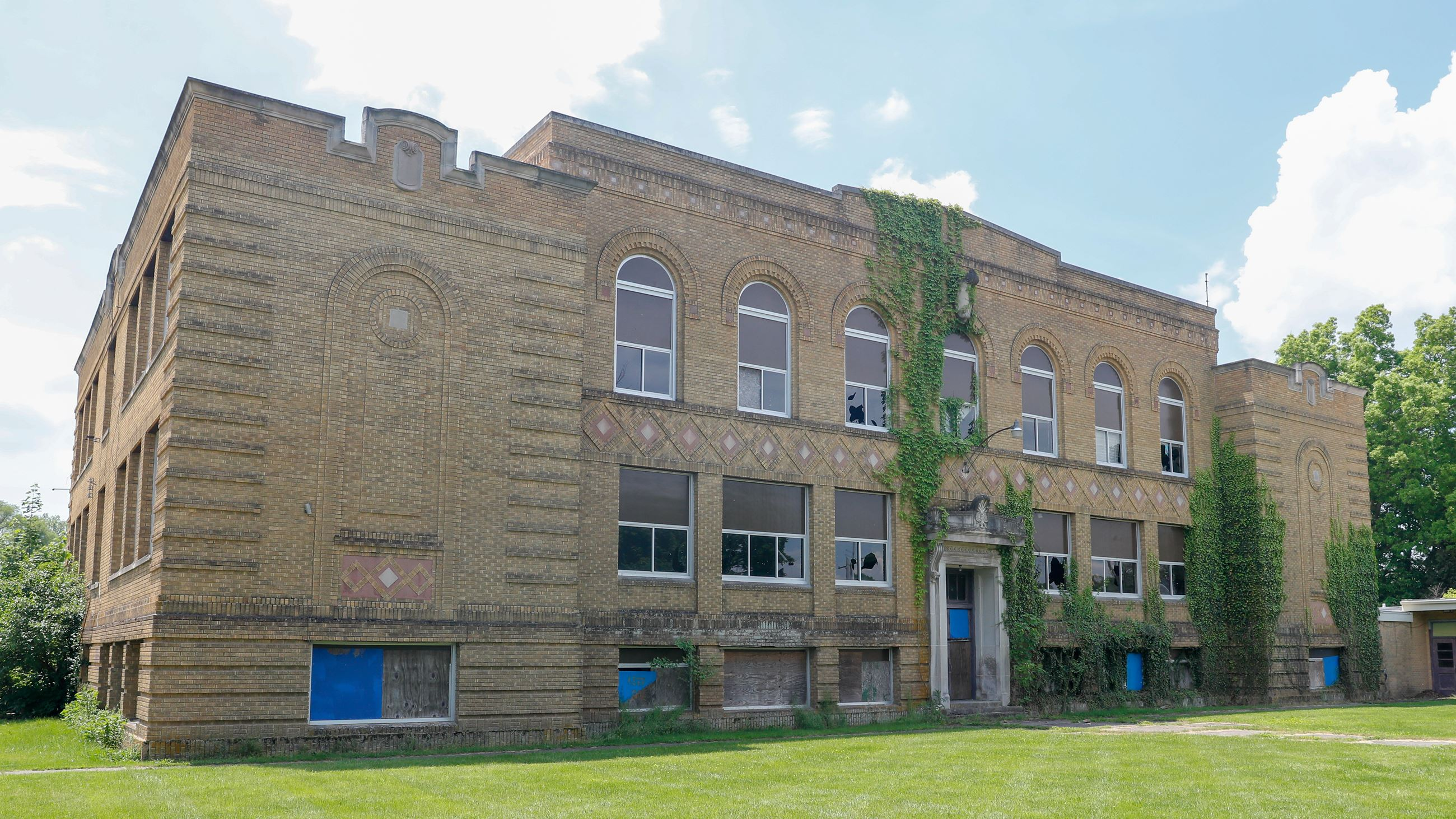 The former Madison Street School in New Carlisle.