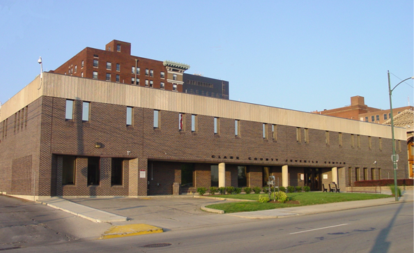 The Clark County Juvenile Court building in downtown Springfield.