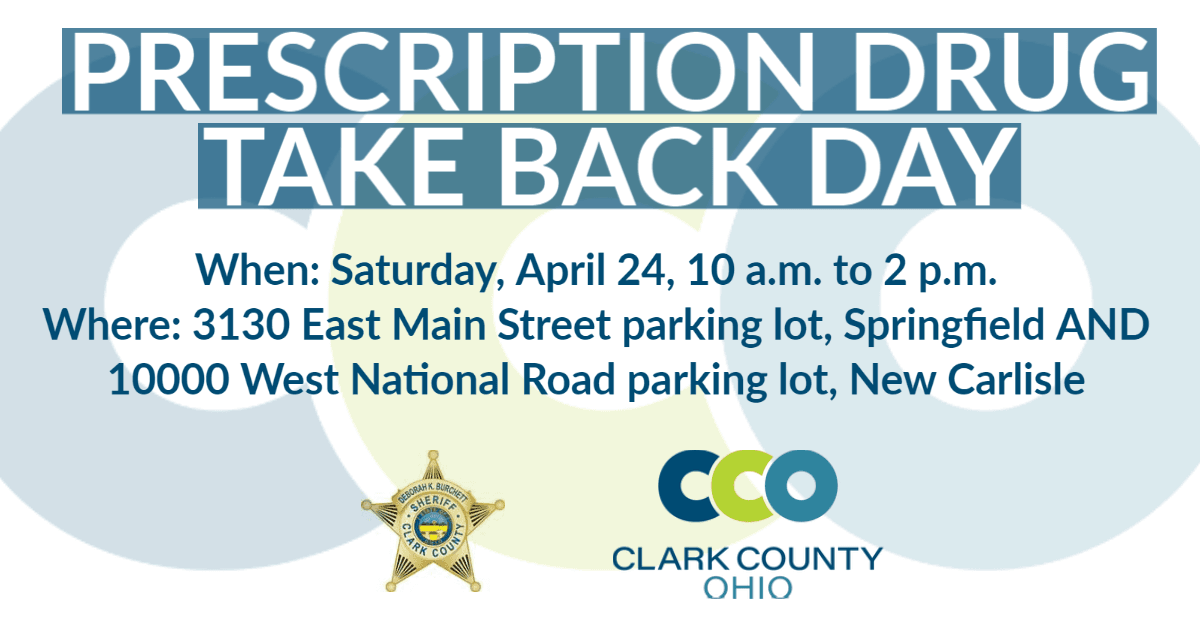 2021 Spring Prescription Drug Take Back Day Information