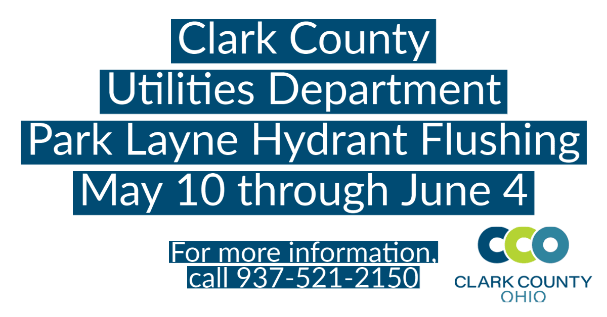 Park Layne Hydrant Flushing May 10 through June 4