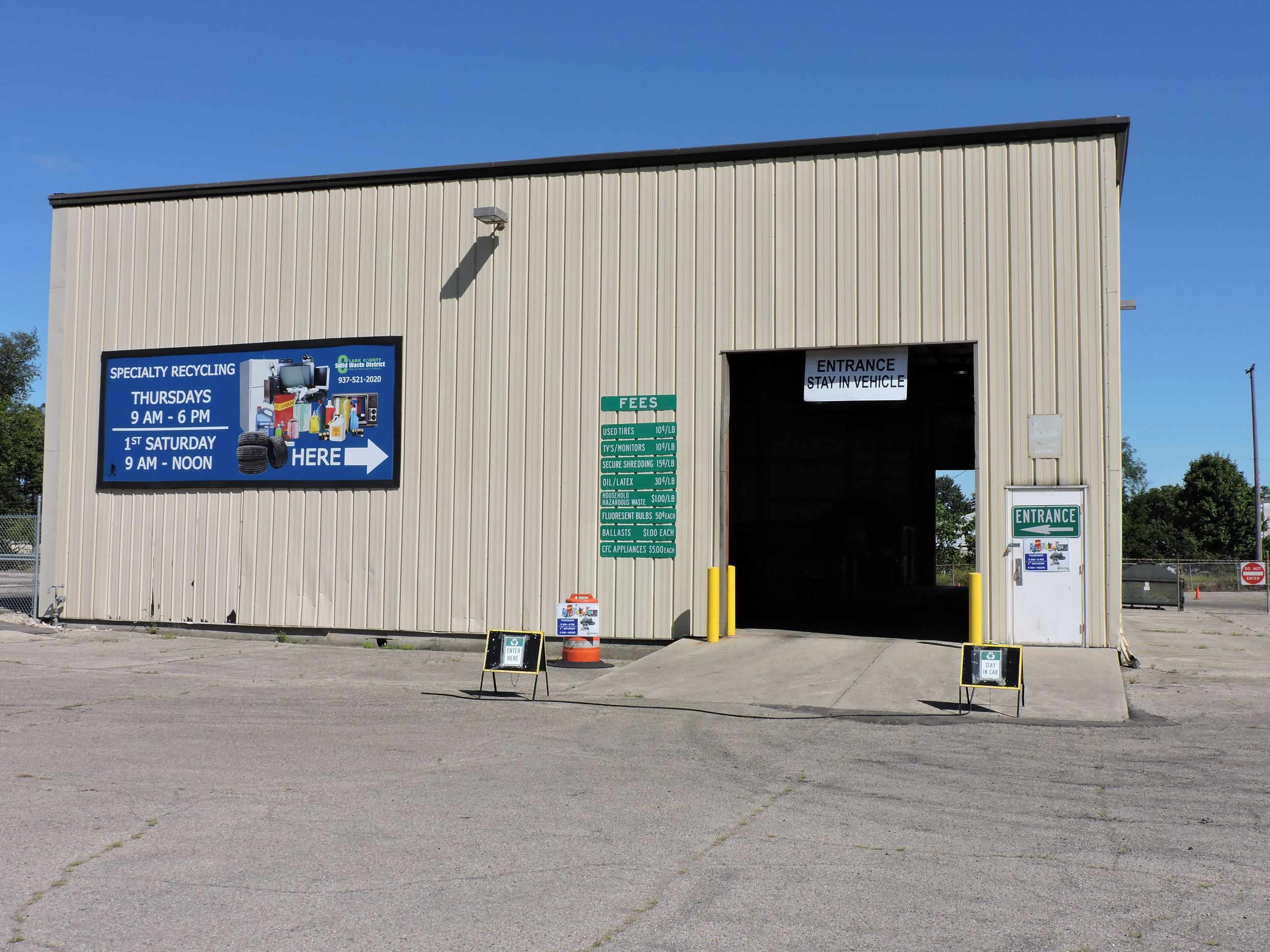 Clark County Specialty Recycling Center