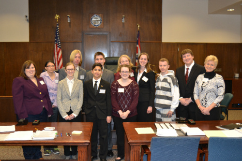 Springfield High Mock Trial Team
