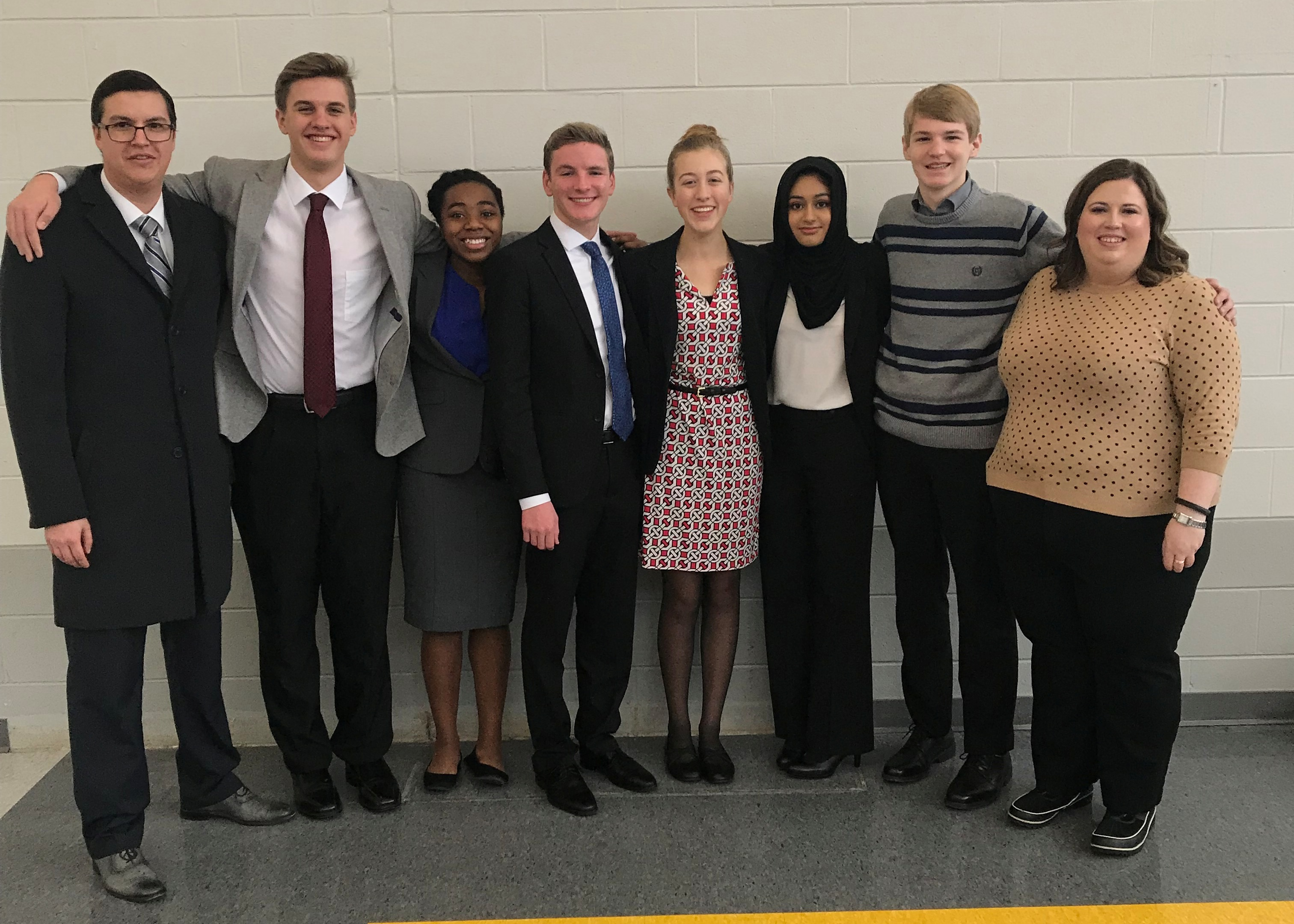 2018 Mock Trial Team